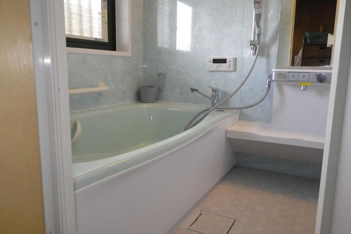浴室のリフォーム ~笠間市 Oさん邸~