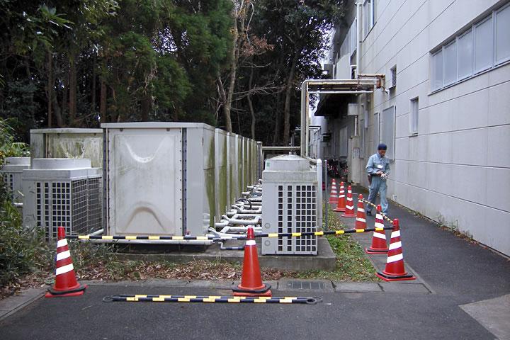 氷熱式エアコンの修理 ~鹿島市 某デパート~