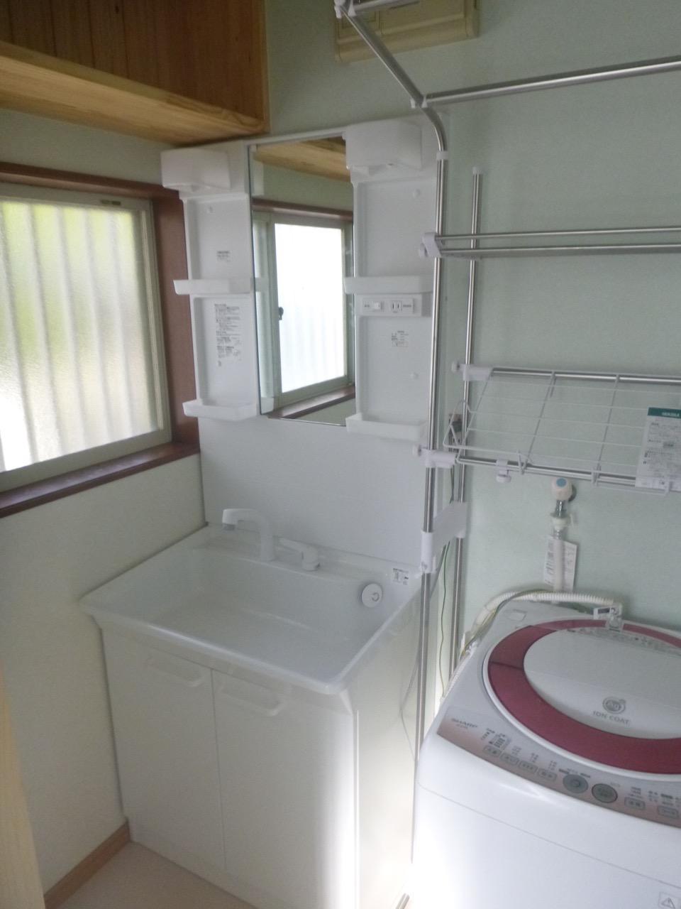 洗面所のリフォーム ~那珂市 Sさん邸~